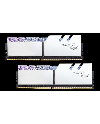 G.Skill Trident Z Royal Pamięć DDR4 16GB (2x8GB) 3600MHz CL17 1.35V XMP Srebrna