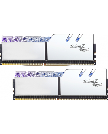 G.Skill Trident Z Royal Pamięć DDR4 16GB (2x8GB) 4600MHz CL18 1.45V XMP Srebrna