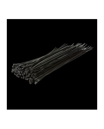 LOGILINK Zestaw opasek zaciskowych 100szt. dł. 30cm, czarne