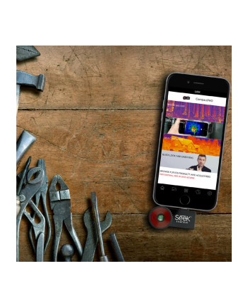 powerneed SEEK THERMAL Compact PRO iOS Kamera termowizyjna do iPhone'a i iPod'a