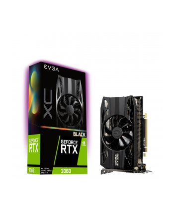 EVGA GeForce RTX 2060 XC BLACK GAMING, 6GB GDDR6, HDB Fan