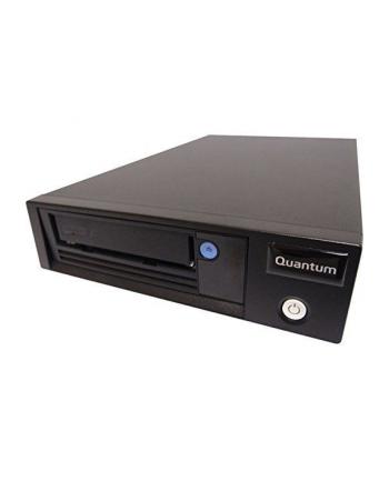 Quantum LTO-7 Tape Drive, Half Height, Tabletop, 6Gb/s SAS, Black