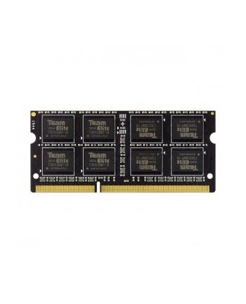 Team Group Pamięć DDR3 4GB 1333MHz CL9 SODIMM 1.5V