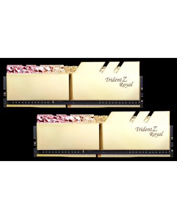 G.Skill Trident Z Royal Pamięc DDR4 32GB (2x16GB) 3200MHz CL16 1.35V XMP Złota