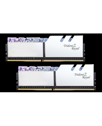 G.Skill Trident Z Royal Pamięć DDR4 16GB (2x8GB) 4400MHz CL18 1.4V XMP Srebrna
