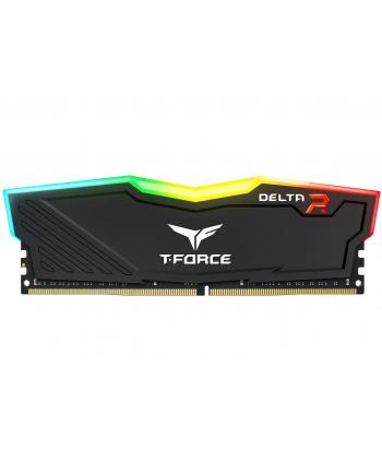 Team Group Delta RGB Pamięć DDR4 4GB 2666MHz CL15 1.2V Czarna