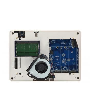 QNAP 4-Bay M.2 TurboNAS, Intel 4C 1,5 GHz, 4GB, 1xGbE LAN, 1x10Gb LAN, 1x65W