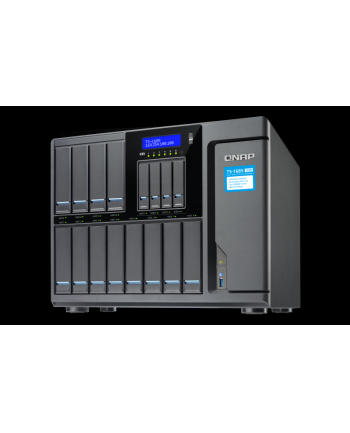 QNAP 16-Bay TurboNAS, Intel D-1521 4C 2,4GHz, 8GB, 4xGbE LAN, 2x10Gb LAN, 1x250W