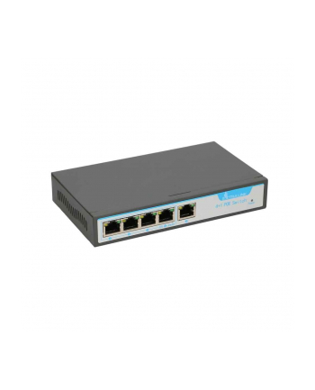 EXTRALINK KRIOS 4-port GbE Unmanaged 802.3AF/AT 150W PoE Switch + 1xRJ45 Up-Link