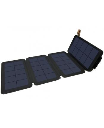 Sandberg Powerbank 12000 z 4-częsciowym panelem słonecznym