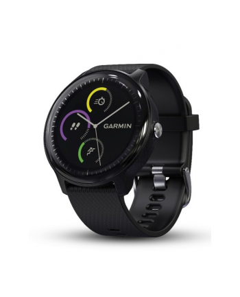 Garmin Vivoactive 3 Music (Black with Stainless Hardware)