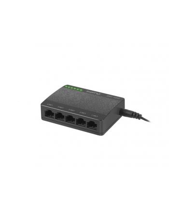 Lanberg Switch DSP1-1005 5-Port 1GB/S Desktop