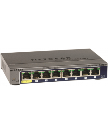 Netgear S350 Smart 8-Port Gigabit Switch Metal (GS308T)