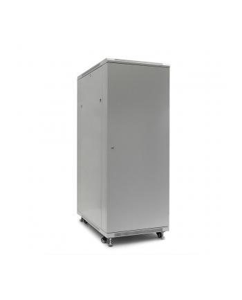 Netrack szafa serwerowa stojąca 32U/600x600mm (drzwi szklane)-szary ZŁOŻONA
