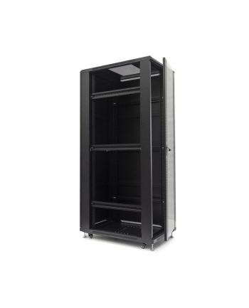 Netrack szafa serwerowa stojąca 42U/600x1200mm (drzwi szklane)-czarny ZŁOŻONA