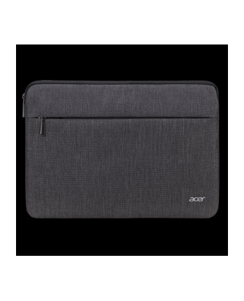 ACER PROTECTIVE SLEEVE DUAL TONE DARK GRAY WITH FRONT POCKET FOR 15.6''