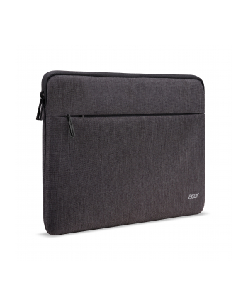 ACER PROTECTIVE SLEEVE DUAL TONE DARK GRAY WITH FRONT POCKET FOR 14''