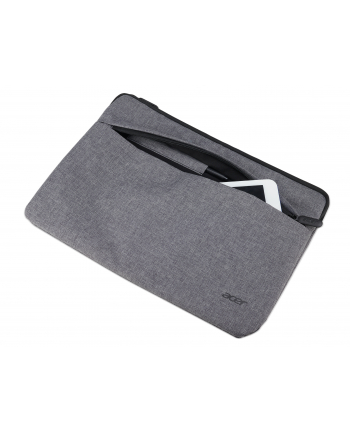 ACER PROTECTIVE SLEEVE DUAL TONE LIGHT GRAY WITH FRONT POCKETOR 11.6''