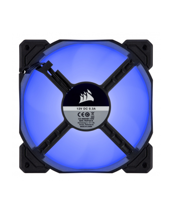 Corsair wentylator AF120 LED High Airflow Fan 120mm, low noise, single, blue