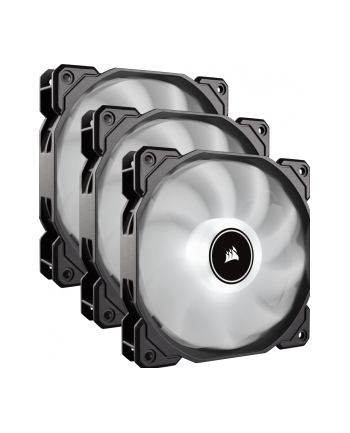 Corsair wentylator AF120 LED High Airflow Fan 120mm, low noise, triple, blue