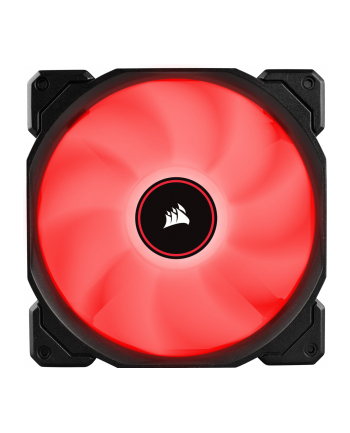 Corsair wentylator AF140 LED High Airflow Fan 140mm, low noise, single, red