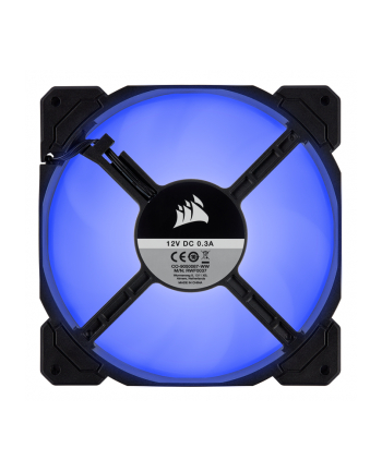 Corsair wentylator AF140 LED High Airflow Fan 140mm, low noise, single, blue