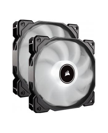 Corsair wentylator AF140 LED High Airflow Fan 140mm, low noise, dual, white