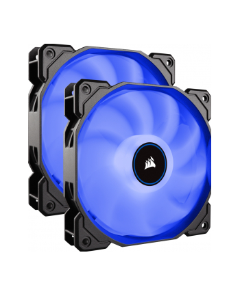Corsair wentylator AF140 LED High Airflow Fan 140mm, low noise, dual, blue