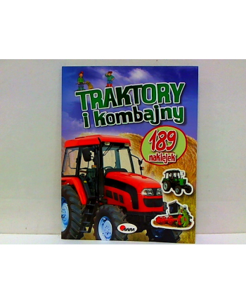 morex Traktory i kombajny 189 naklejek 58.11           .