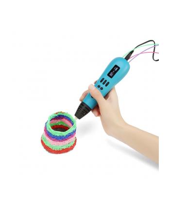 Gembird Długopis do druku 3D, 3D pen wielofilamentowy, ABS/PLA filament, niebies