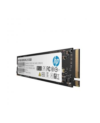 HP Dysk SSD EX950 512GB, M.2 PCIe Gen3 x4 NVMe, 3500/2250 MB/s, IOPS 390/370K
