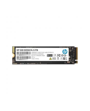 HP Dysk SSD EX950 2TB, M.2 PCIe Gen3 x4 NVMe, 3500/2900 MB/s, IOPS 410/380K