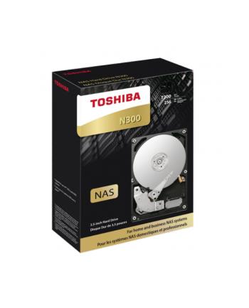 Dysk twardy Toshiba N300, 3.5'', 14TB, SATA/600, 7200RPM, 256MB, BOX