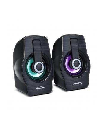 Audiocore AC855B Głośniki Komputerowe 6W USB Black
