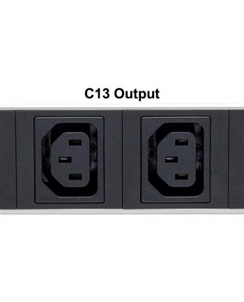 intellinet network solutions Intellinet Listwa zasilająca pionowa Rack 12x C13, 12x przełącznik, 250V/16A, 2m