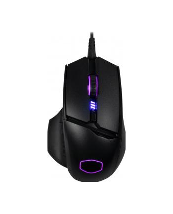 cooler master europe b.v. Cooler Master mysz gamingowa MasterMouse MM830 24000DPI RGB Czarna
