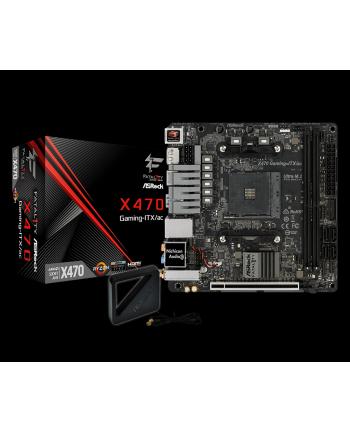 ASRock Fatal1ty X470 Gaming-ITX/ac, DDR4, SATA3, Ultra M.2, USB 3.1, DP, HDMI