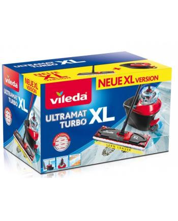 Mop Vileda Ultramat Turbo XL | zestaw mop + wiadro z wyciskaczem