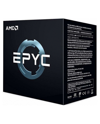 AMD EPYC (Twenty-four Core) Model 7401, Socket SP3, 3.0GHz, 64MB, 170W, BOX