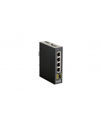 D-Link 5 Port Unmanaged Switch 4 x 10/100/1000Base & 1 x 100/1000BaseSFP