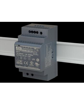 D-Link 60W Ultra slim design with 52.5mm (3SU) width Power Supply