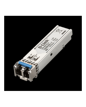 D-Link 1-port Mini-GBIC SFP to 1000BaseLX Transceiver Singlemode (up to 10 km)
