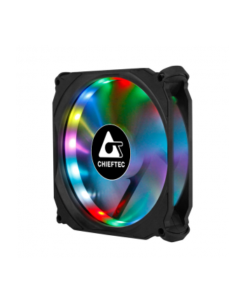 Chieftec CF-3012-RGB  3 x wentylator RGB do obudów - 120x120x25mm -  złącze 6pin