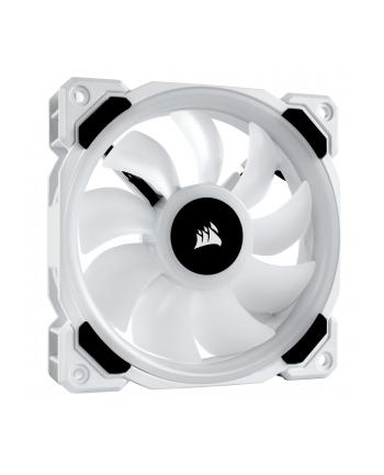 Corsair wentylator LL120 RGB LED Static Pressure, 120 mm, PWM, pojedynczy, biały