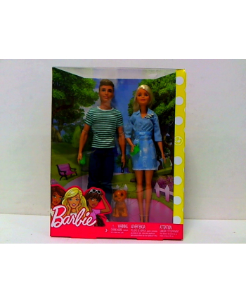 mattel Barbie + Ken zestaw lalek FTB72 /4