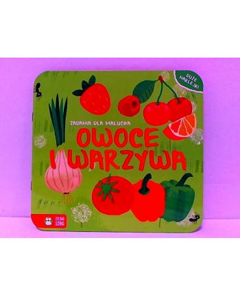 zielonasowa Zadania dla malucha. Owoce i warzywa 58.11.13.0