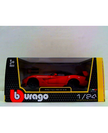 BBU 1:24 Dodge Viper SRT10 ACR orange black 22114