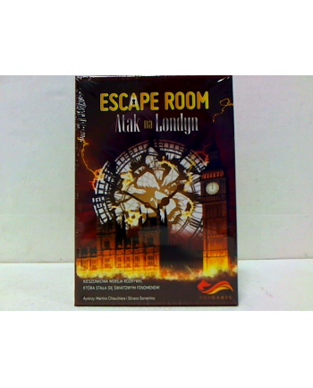 foksal Escape Room. Atak na Londyn 169002