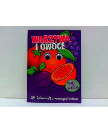 foksal Kolorowanka z oczkami. Warzywa i owoce 58.11.13.0