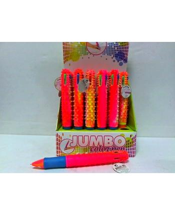 symag-llorens TOI TOYS Jumbo długopis 4-kolory 24szt/disp 46359Z